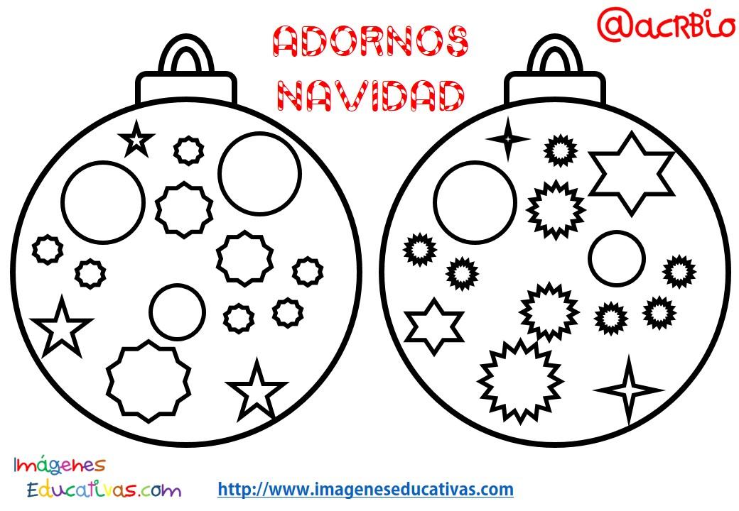 Bolas de navidad colorear 12 imagenes educativas - Fotos de bolas de navidad ...