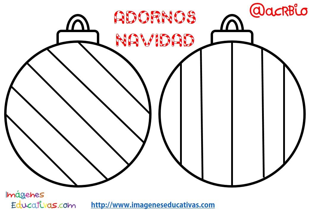 Bolas de navidad colorear 14 imagenes educativas for Imagenes de bolas de navidad