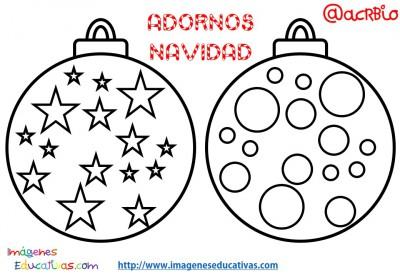 bolas de navidad colorear como pintar