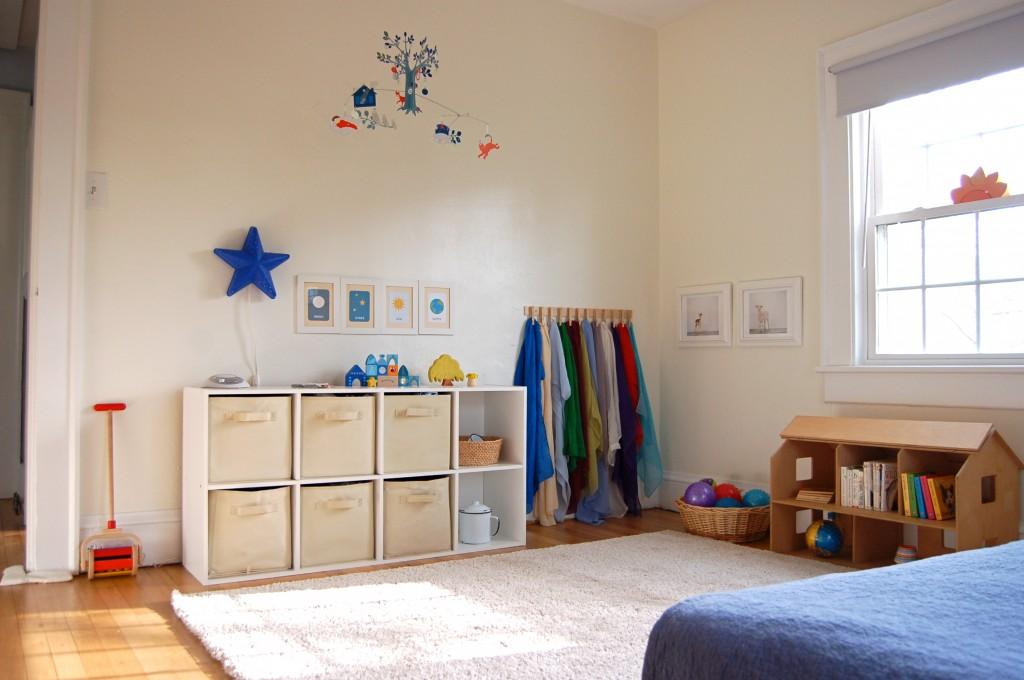 Habitaci n montessori 6 imagenes educativas - Habitaciones infantiles ninos 2 anos ...