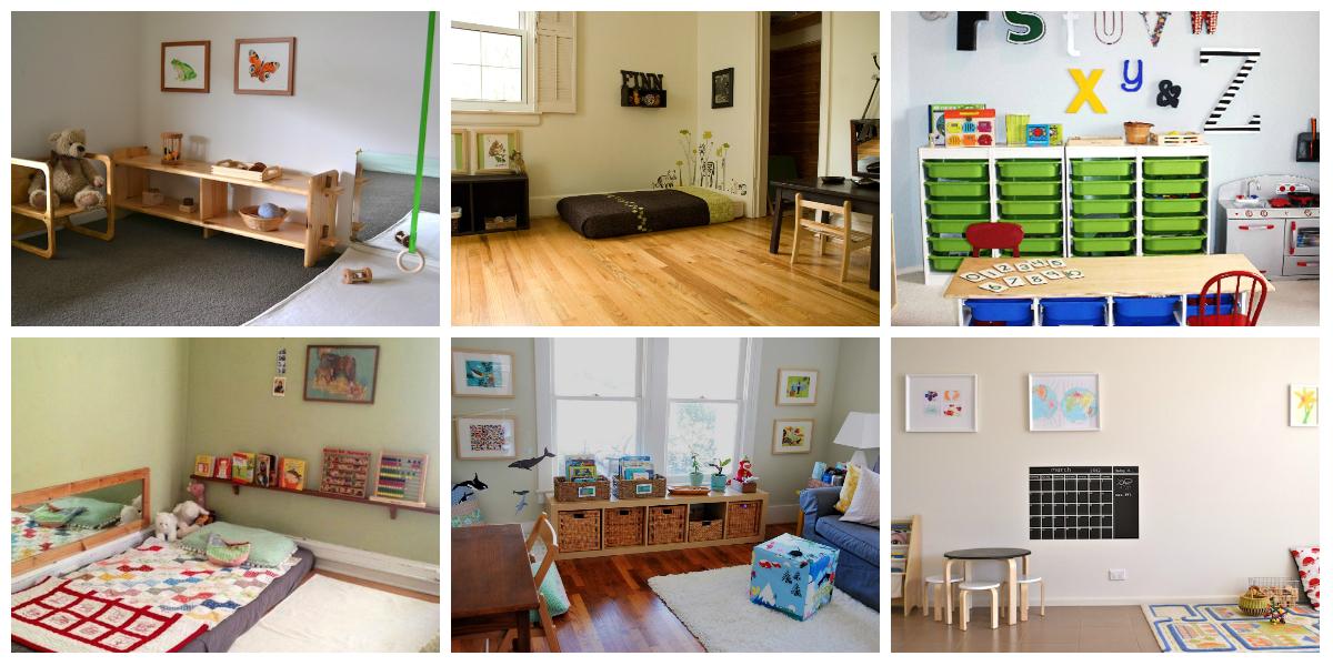 25 habitaciones de beb inspiradas en montessori te damos for Decoracion de espacios de aprendizaje