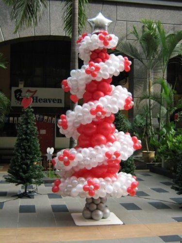 Navidad globos decoracion 1 imagenes educativas - Decoracion de navidad para ninos ...