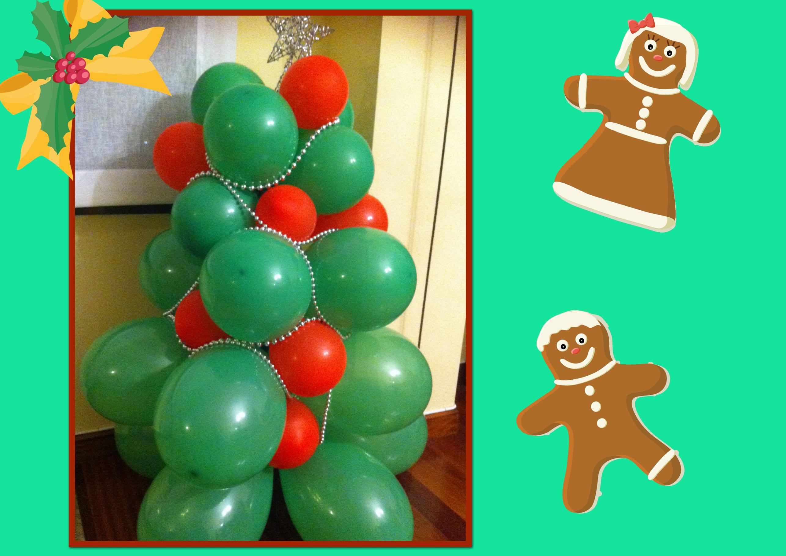 Navidad globos decoracion 19 imagenes educativas - Decoracion de navidad con globos ...