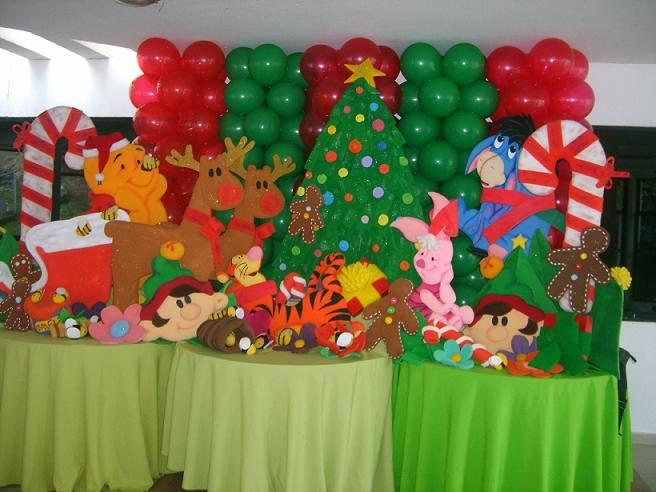 Navidad globos decoracion 6 imagenes educativas for Decoracion navidena con ninos
