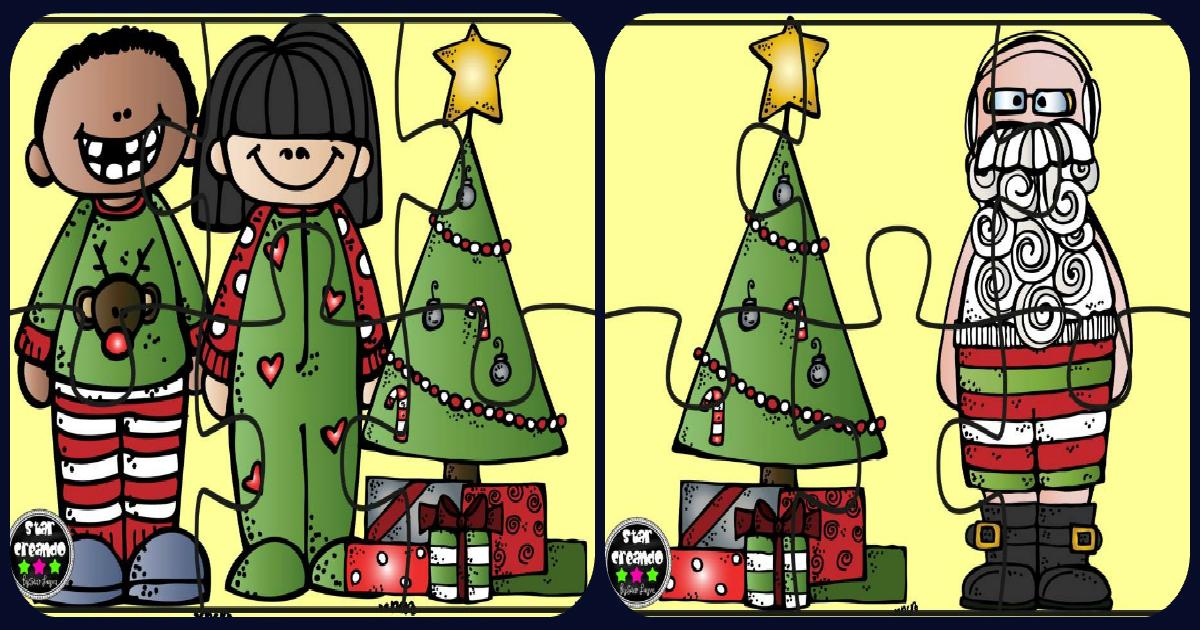 Perfecto Tarjetas De Navidad Imprimibles Para Niños A Color Patrón ...