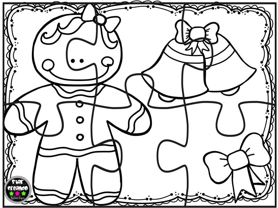 Puzzles Navidad Para Colorear (8)