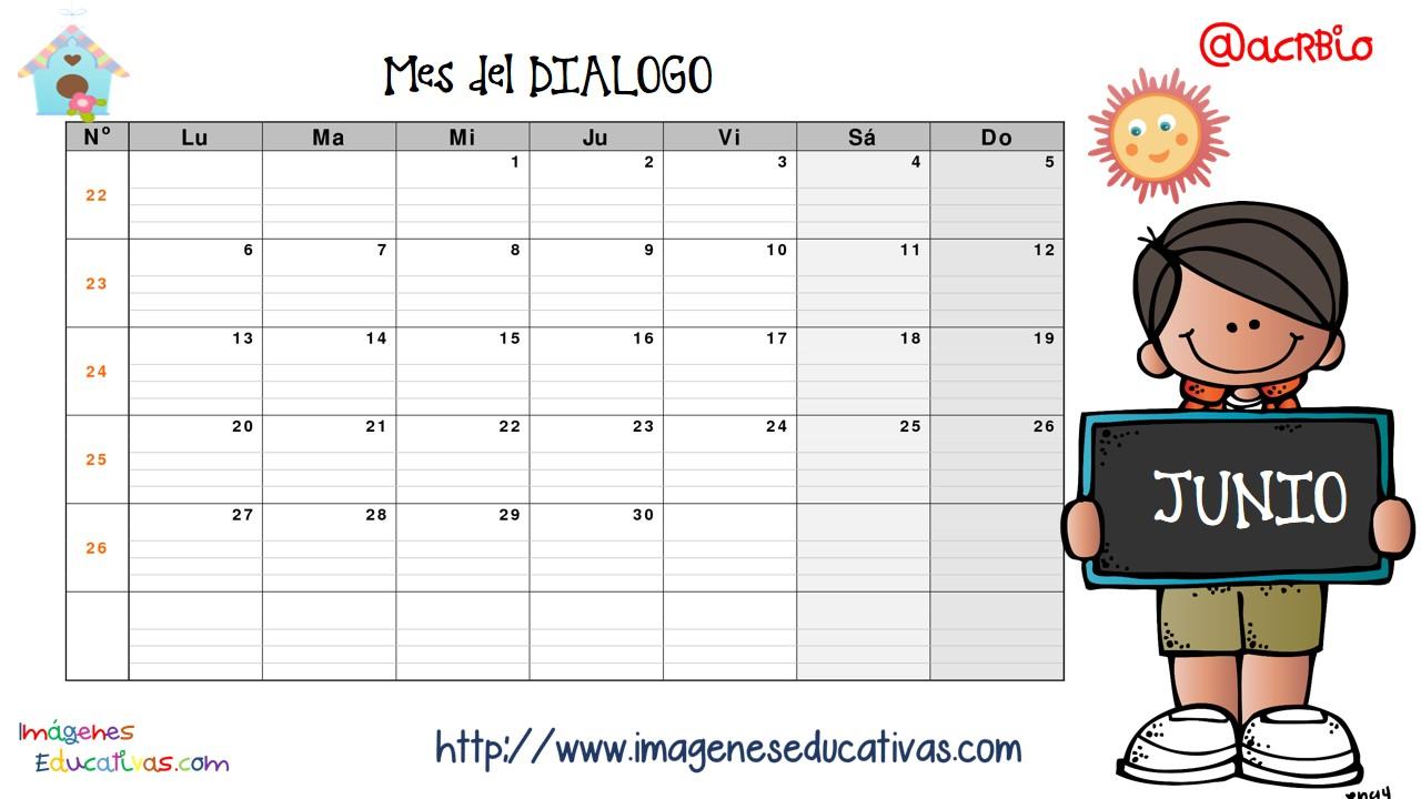 Calendario Valores y planificador 2016 IMAGENES EDUCATIVAS (7 ...