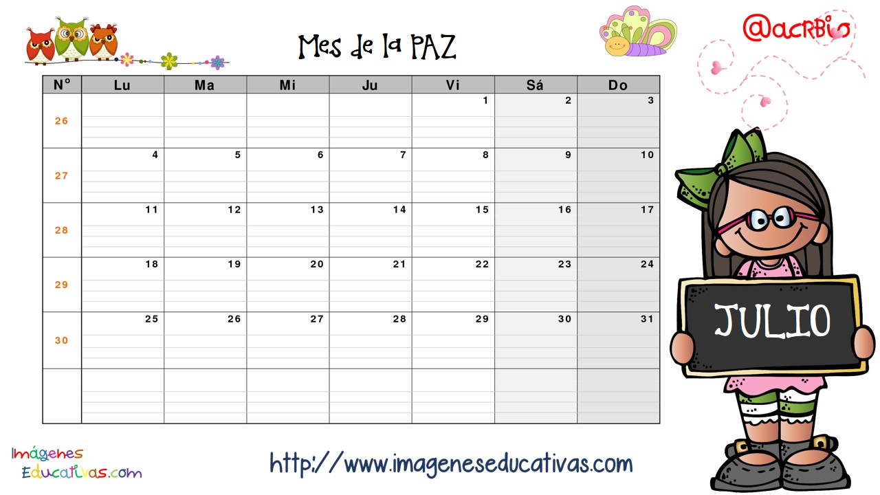 Imagenes Educativas Para Descargar: Calendario Valores Y Planificador 2016 IMAGENES EDUCATIVAS