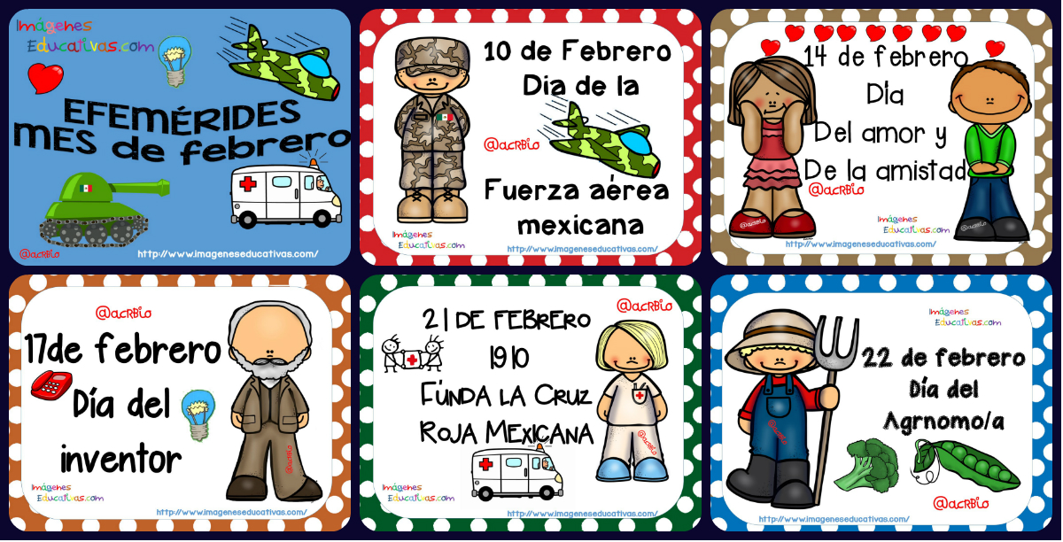 Mural Escolar Febrero