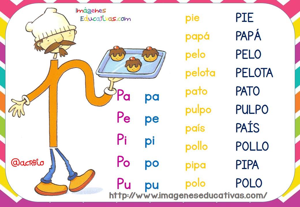 Imagenes Educativas Para Descargar: Fichas De Lectura LETRILANDIA (1)