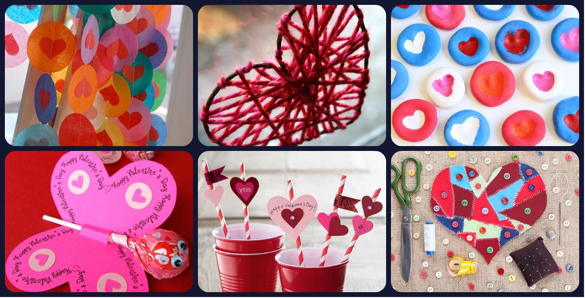 20 manualidades creativas para el 14 de febrero san for Actividades recreativas en el salon de clases