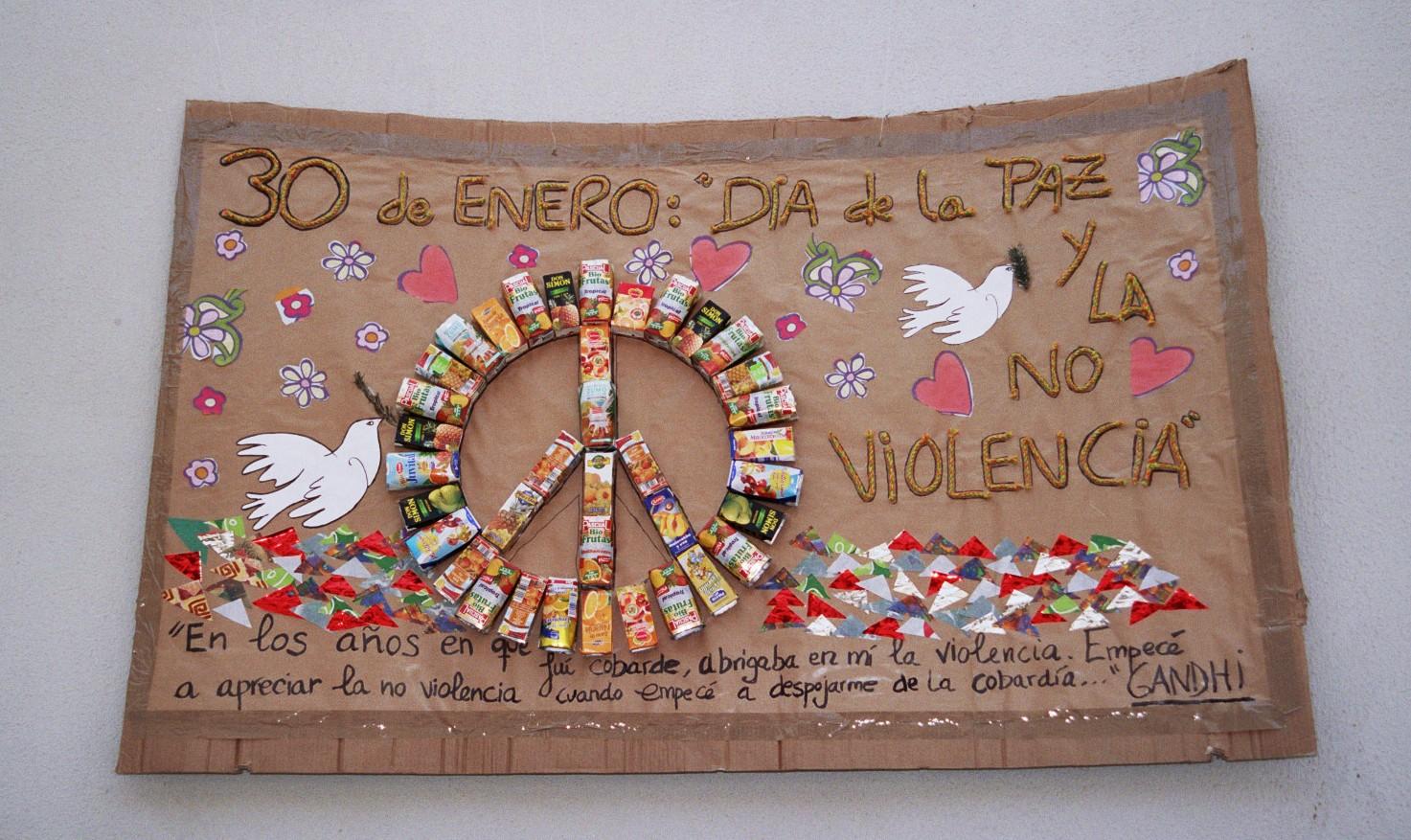 1000 images about d a de la paz on pinterest la paz for Murales para ninos