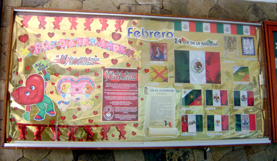 Periodico mural febrero 3 imagenes educativas for Estructura de un periodico mural