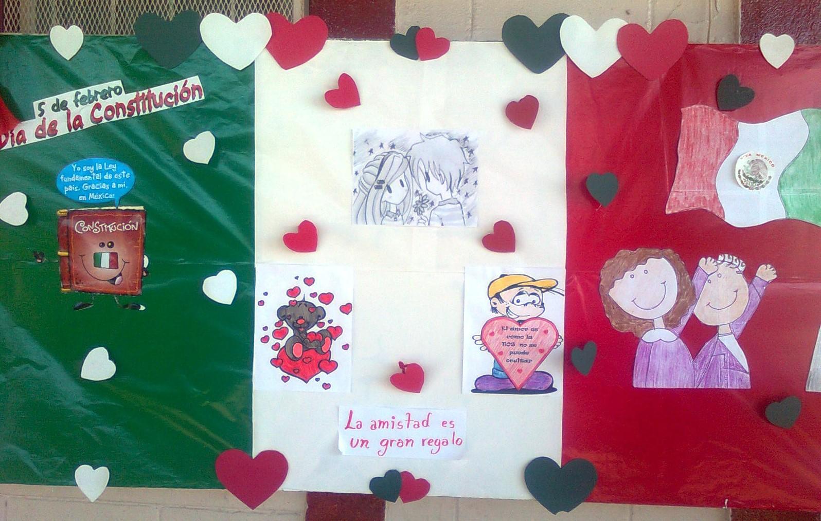 Periodico mural febrero 4 imagenes educativas for Concepto de periodico mural