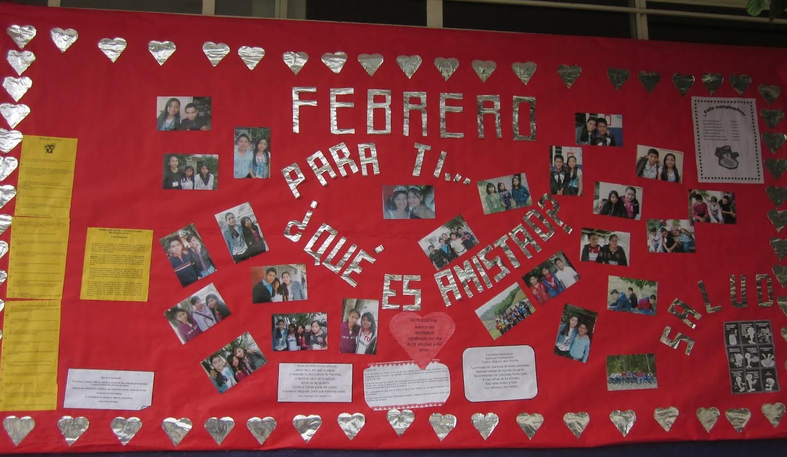 Periodico mural febrero 7 imagenes educativas for Como elaborar un periodico mural