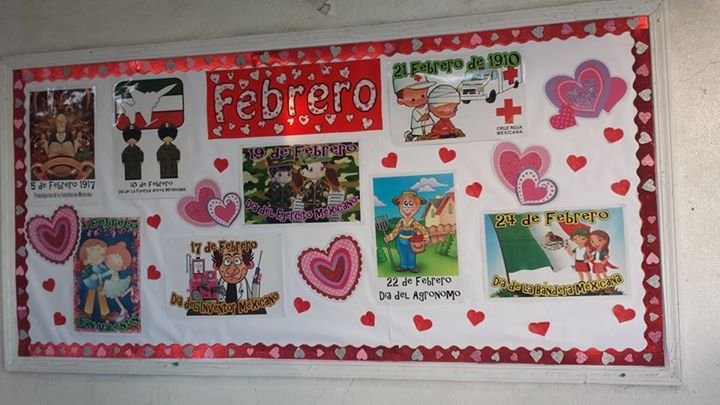Periodico mural febrero 8 imagenes educativas for Diario mural en ingles
