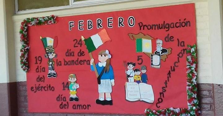 Periodico mural febrero 9 imagenes educativas for Avisos de ocasion el mural