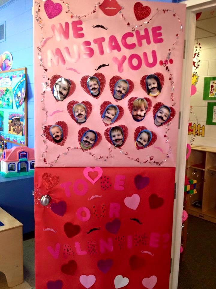 Salon De Clases Decorado De San Valentin ~ Puertas San Valent?n (18)  Imagenes Educativas