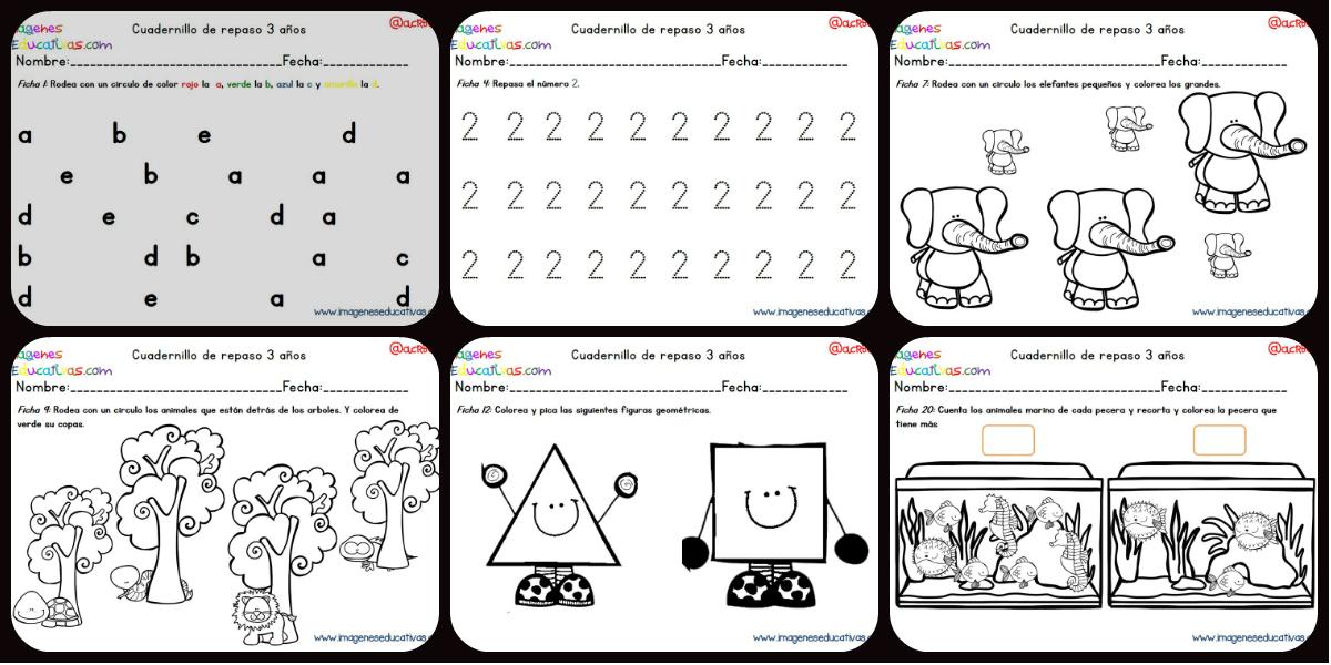 Cuadernillo complementario para 3 a os educaci n for Actividades para jardin maternal sala de 2