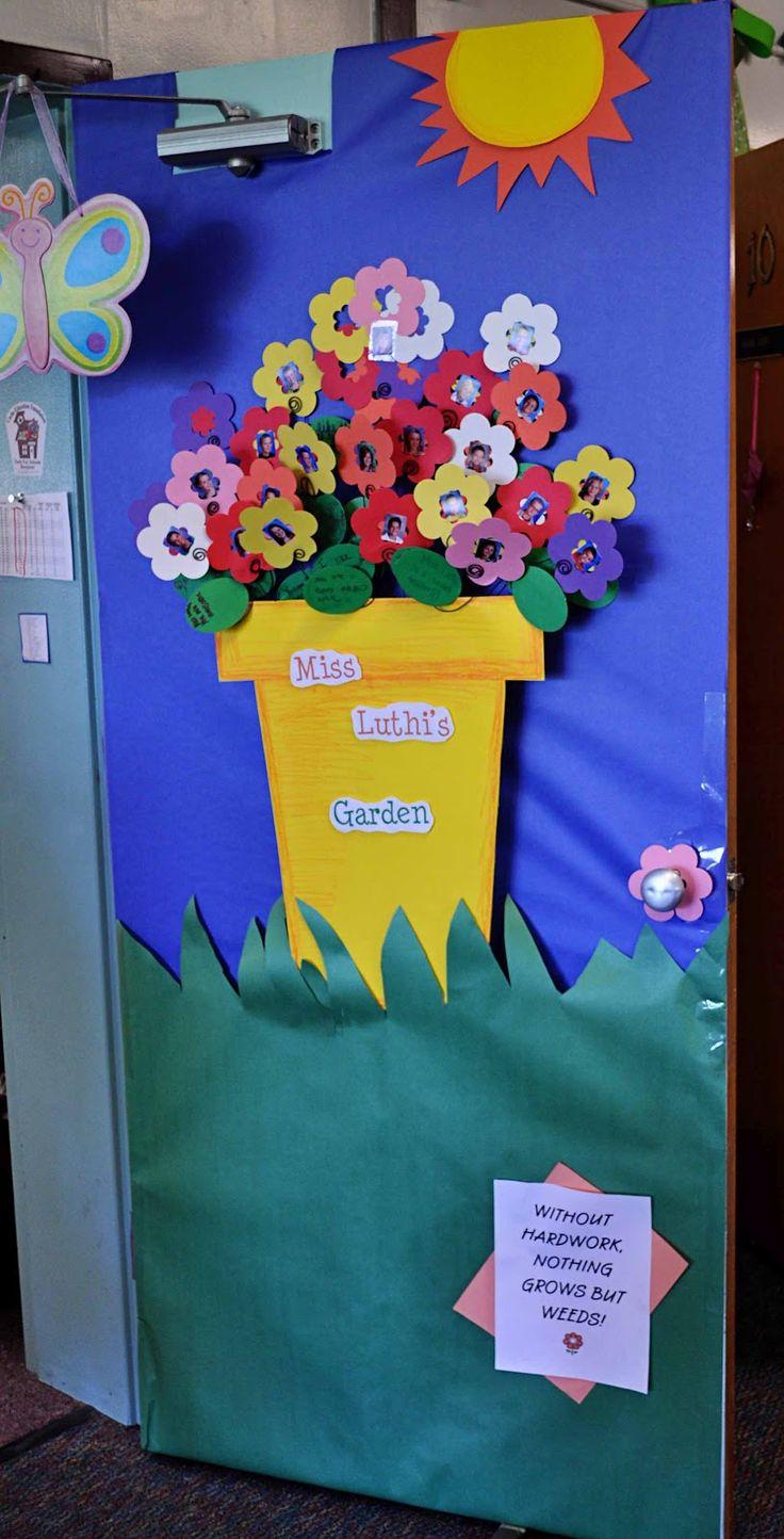 Decoracion puertas clase 13 imagenes educativas for Decoracion del hogar en primavera