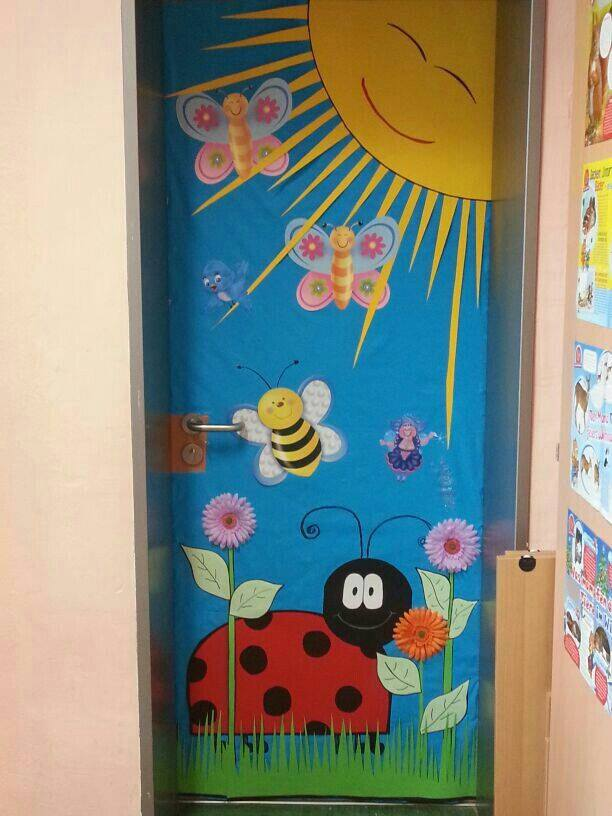Decoracion puertas clase 3 imagenes educativas for Decoracion salas jardin de infantes