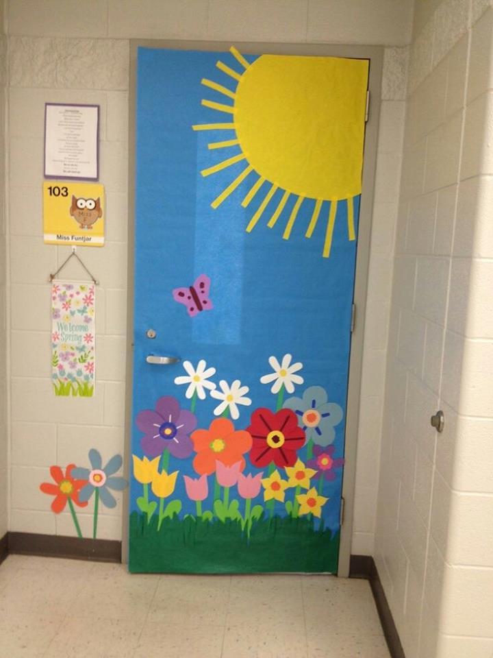 decoracion puertas clase 9 imagenes educativas