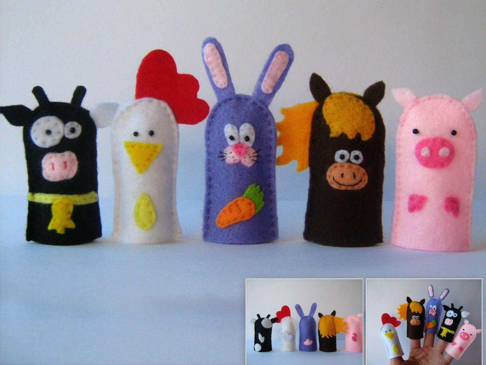 Marionetas de dedos 12 imagenes educativas - Imagen de manualidades ...