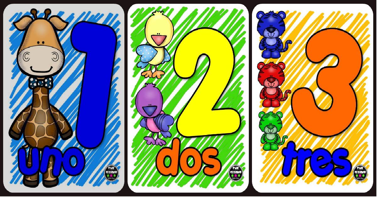 6. Archivador del juego - Vamos aprender los numeros 1-10