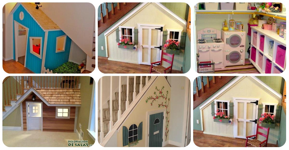 Convierte el hueco de tu escalera en un espacio de ensue o for Huecos de escaleras decoracion