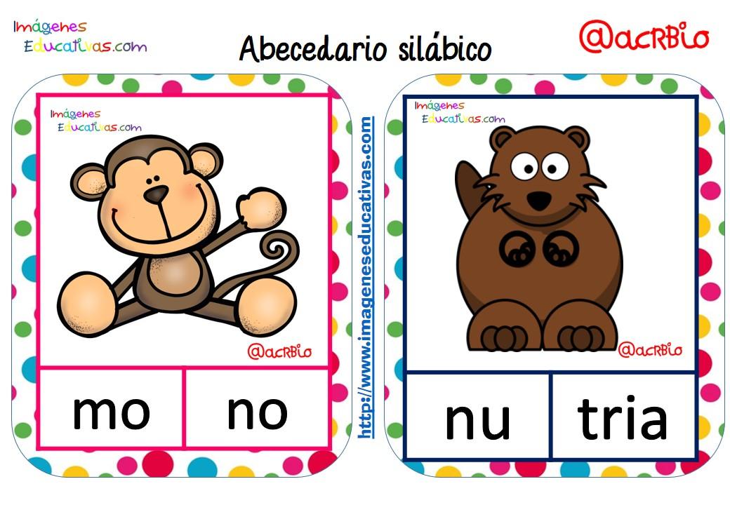 abecedario sil u00e1bico de animales  7