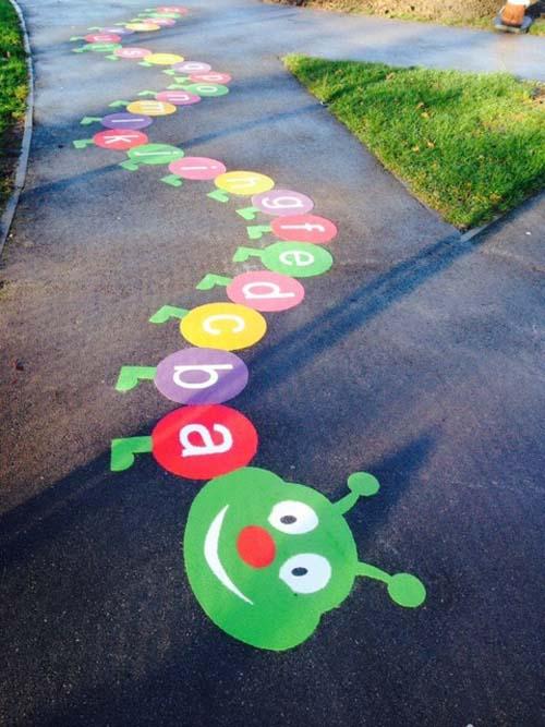 Juegos tradicionales para el patio del cole 1 imagenes Decoracion de espacios de preescolar