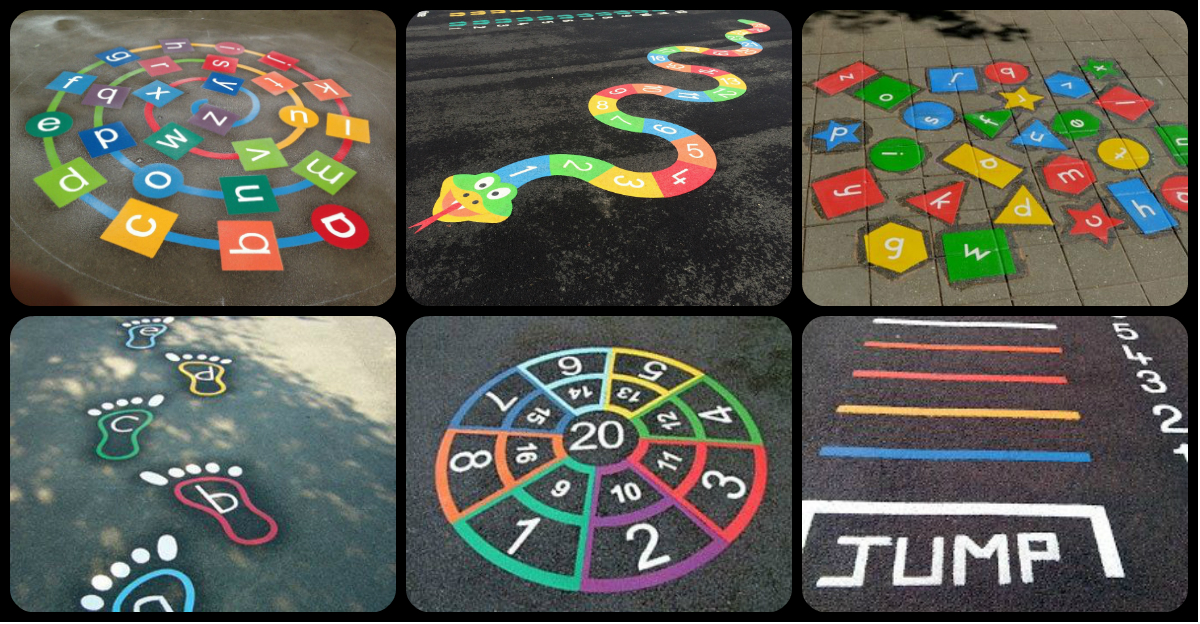 nuevos y divertidos juegos para el patio del cole pinta tu patio para jugar imagenes educativas