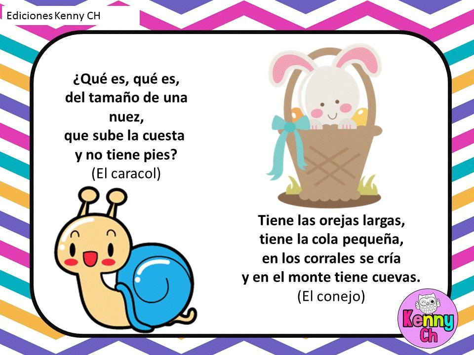 Las adivinanzas (5) - Imagenes Educativas
