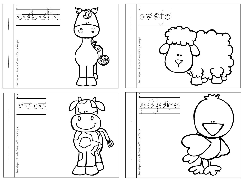 Animales Para Colorear: Mi Libro De Colorear De Animales Domesticos (2)
