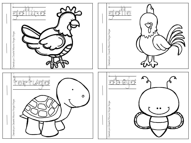 Animales Para Colorear: Mi Libro De Colorear De Animales Domesticos (4)