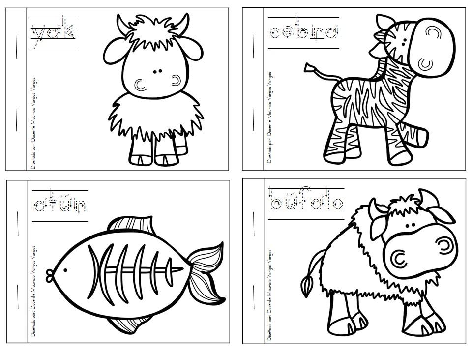 Dibujos Animales Salvajes Para Colorear E Imprimir: Mi Libro De Colorear De Animales Salvajes (5)