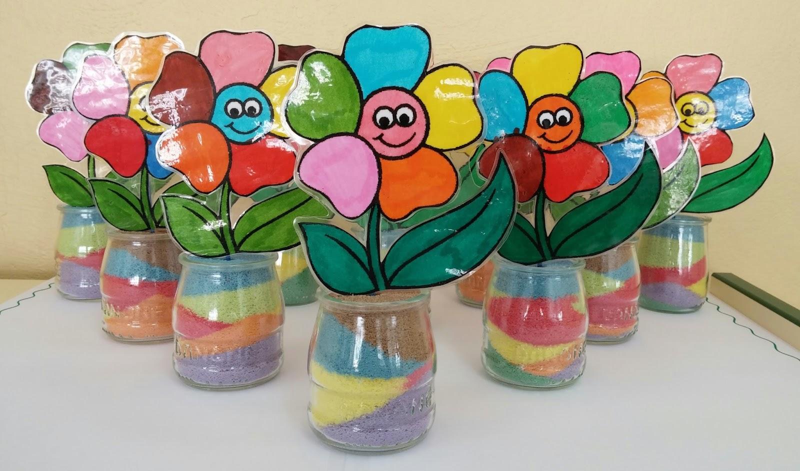 Manualidades para ni os y ni as especial primavera 18 - Manualidades decoracion infantil ...