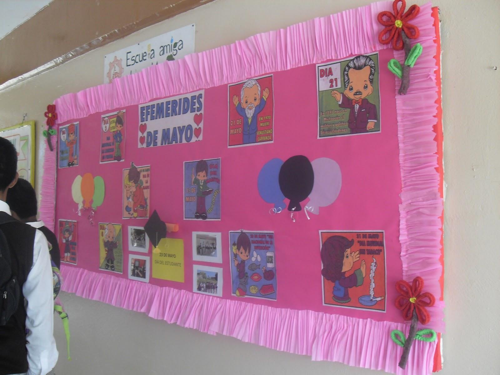 Peri dico mural mayo mes de las madres 38 imagenes for Como decorar un mural