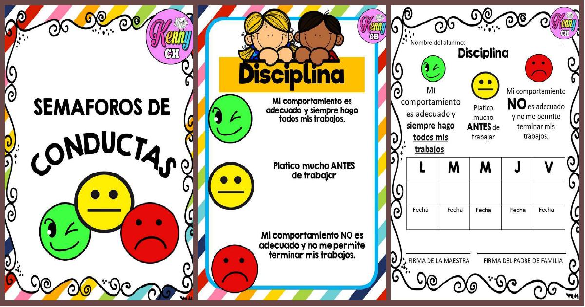 SEMÁFOROS DE CONDUCTA. - Imagenes Educativas