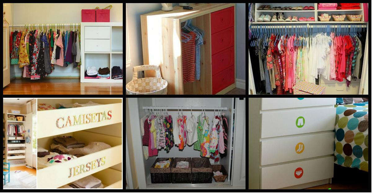 Ideas para transformar el armario de tus hijos e hijas en - Ideas para armarios ...