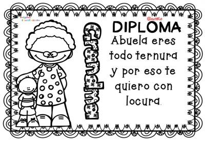 Diplomas Originales Para Colorear Del D A De Las Madres