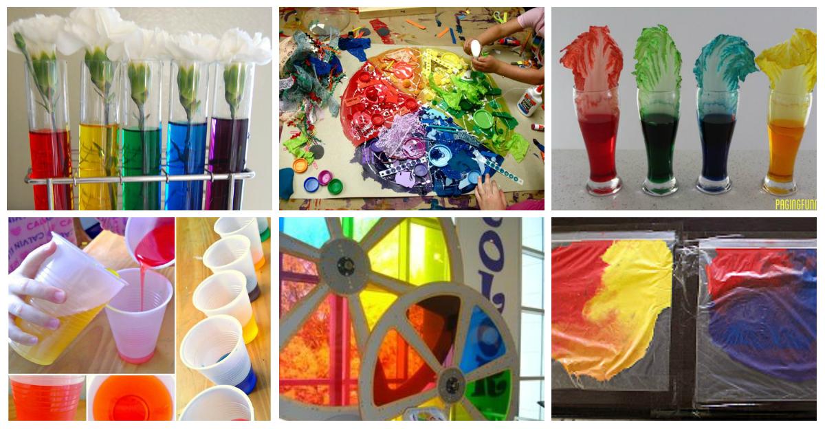 coleccin de para trabajar los colores imagenes educativas