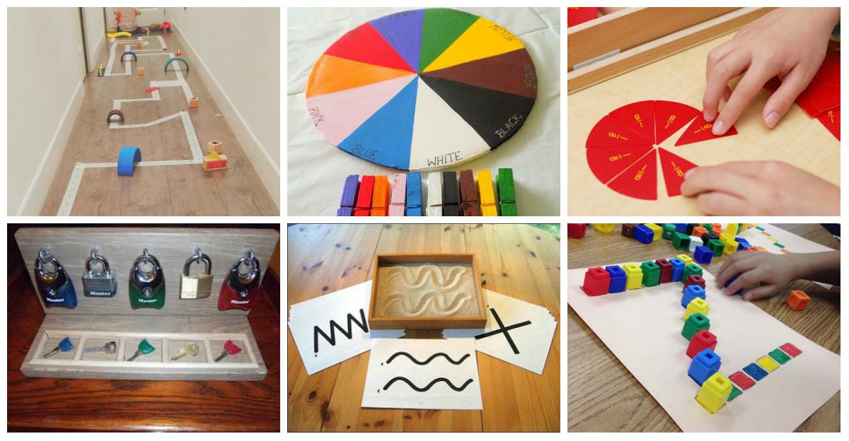 Materiales educativos montessori diy ideales para trabajar - Casa de materiales ...