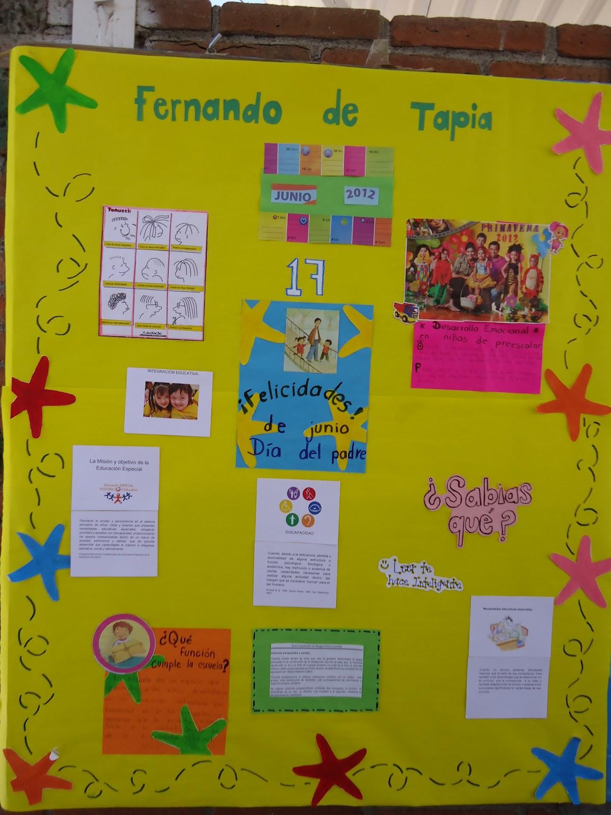 Periodico Mural Mes De Junio Preescolar