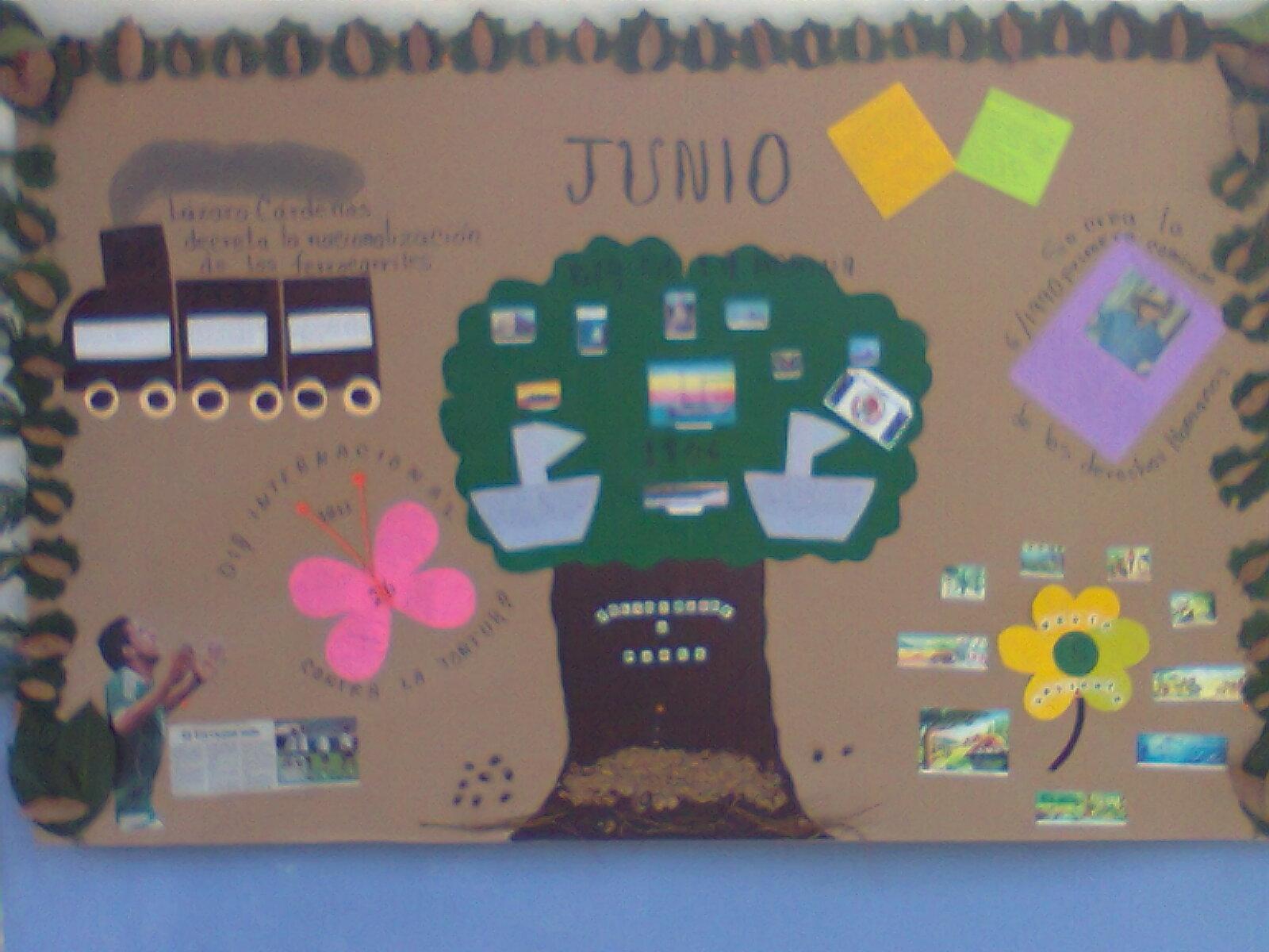Peri dico mural mes de junio 2 imagenes educativas for Concepto de periodico mural