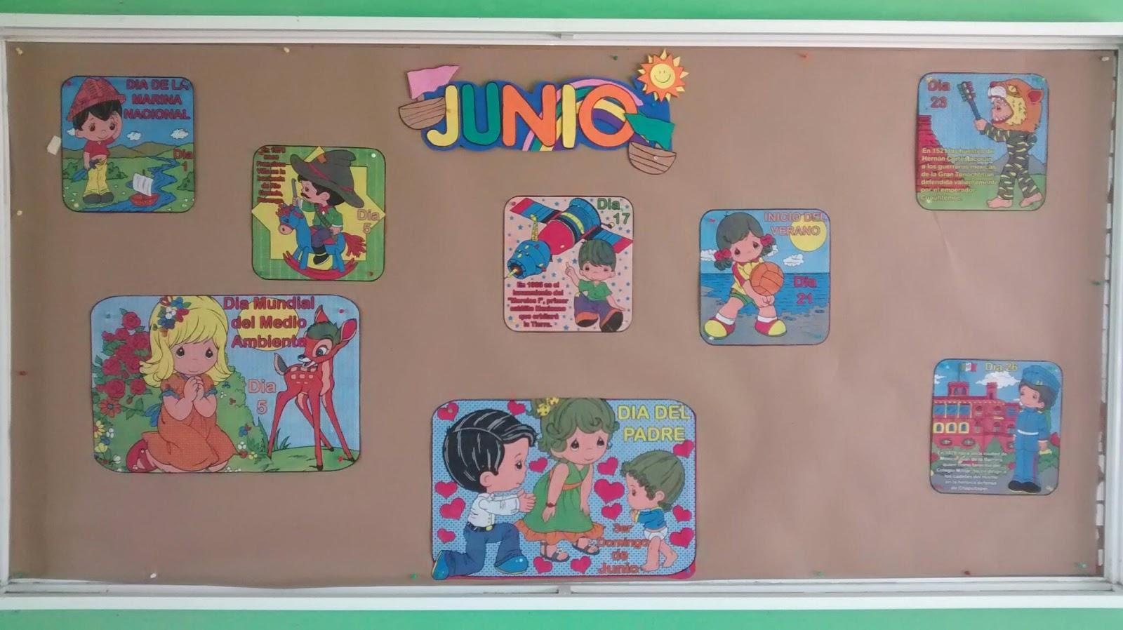 Peri dico mural mes de junio 3 imagenes educativas for Amenidades para periodico mural