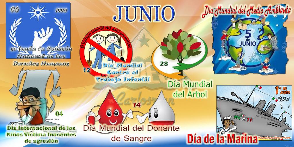 periódico mural mes de JUNIO (6) - Imagenes Educativas