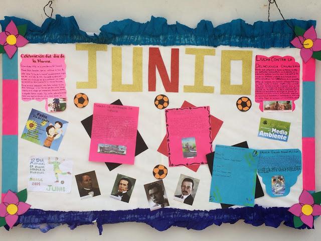 Peri dico mural mes de junio 8 imagenes educativas for Diario mural en ingles