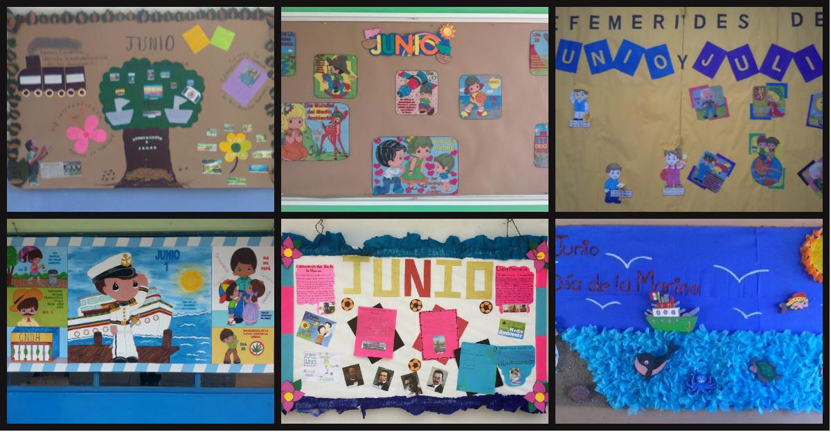 Ideas peri dico mural mes de junio imagenes educativas for Como organizar un periodico mural