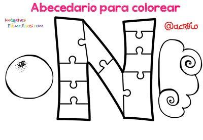 Abecedario para colorear (14)